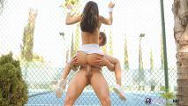 Трах с сексуальной тенисисткой